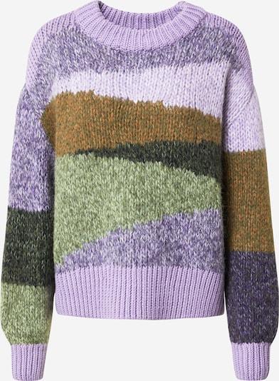 Marc O'Polo DENIM Pullover in helllila / mischfarben, Produktansicht