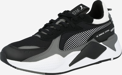PUMA Zapatillas deportivas bajas en gris / negro / blanco, Vista del producto