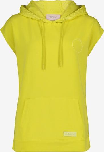 Cartoon Sweatshirt in limone, Produktansicht