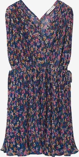 MANGO Kleid 'Mina' in blau / mischfarben, Produktansicht
