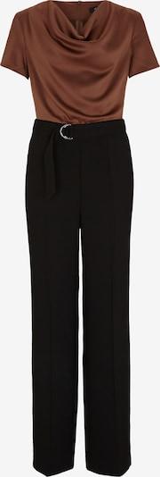 s.Oliver BLACK LABEL Jumpsuit in braun / schwarz, Produktansicht