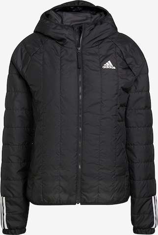 ADIDAS PERFORMANCE Outdoor Jacket 'ITAVIC' in Black