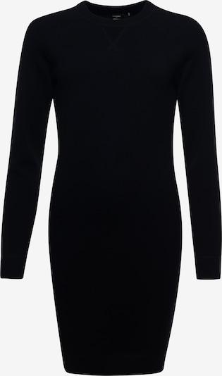 Superdry Gebreide jurk 'Essential' in de kleur Lichtgrijs / Zwart, Productweergave