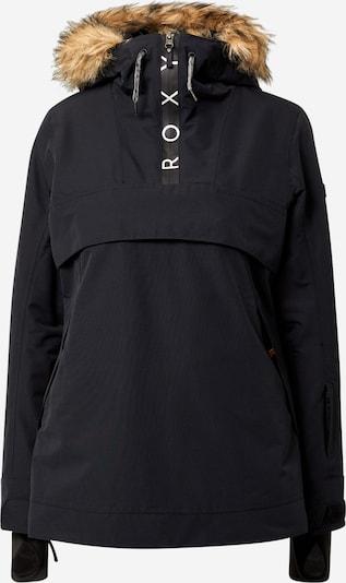 ROXY Outdoorová bunda 'SHELTER' - svetlohnedá / čierna, Produkt