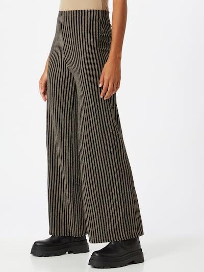Pantaloni Dorothy Perkins pe bej / negru, Vizualizare model