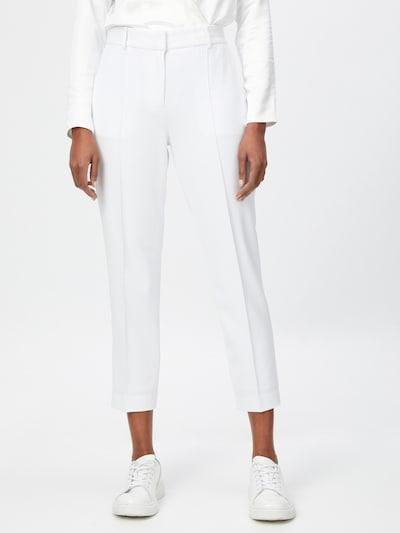Pantaloni cu dungă MICHAEL Michael Kors pe alb, Vizualizare model