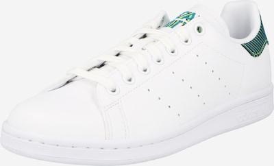 ADIDAS ORIGINALS Sneakers laag 'STAN SMITH' in de kleur Smoky blue / Neongeel / Zwart / Wit, Productweergave