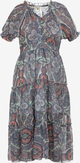 usha FESTIVAL Kleid in blau / mint / apricot, Produktansicht