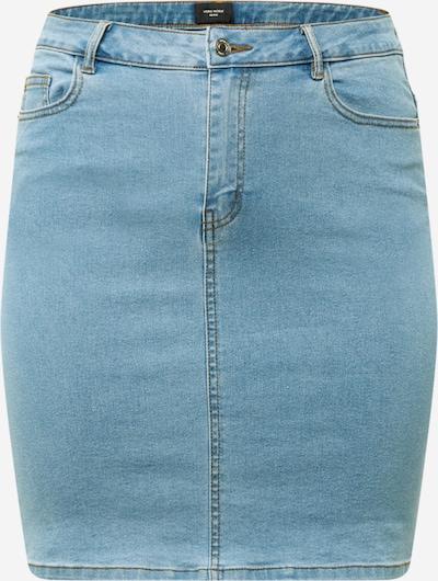 Vero Moda Curve Jupe 'Hot Nine' en bleu denim, Vue avec produit