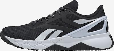 REEBOK Športni čevelj 'Nanoflex TR' | črna / bela barva, Prikaz izdelka