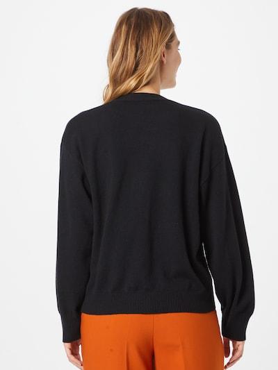The Kooples Плетена жилетка в черно, Преглед на модела