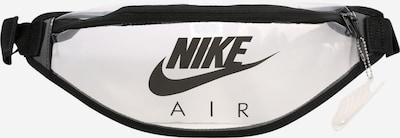 Nike Sportswear Gürteltasche 'Heritage' in schwarz / transparent, Produktansicht