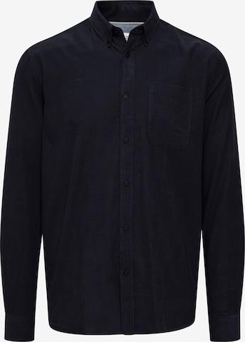 !Solid Langarmhemd 'SDJUAN CORDUROY' in Blau