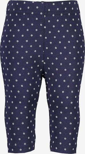 BLUE SEVEN Leggings in blau / weiß, Produktansicht