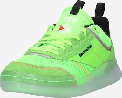 Sneaker low 'CLUB C LEGACY' Reebok Classics pe verde neon / roșu / negru / argintiu / alb, Vizualizare produs