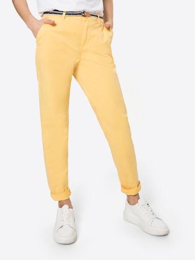 ESPRIT Chinohose in gelb, Modelansicht