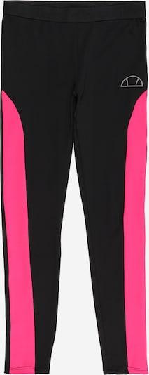 ELLESSE Leggings 'Melinta' in de kleur Pink / Zwart / Wit, Productweergave
