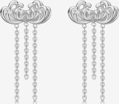 Polar Jewelry Oorbellen 'Chrysanthemum Earrings' in de kleur Zilver, Productweergave