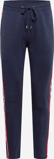 JOOP! Jeans Pantalon en bleu foncé / rouge / blanc, Vue avec produit