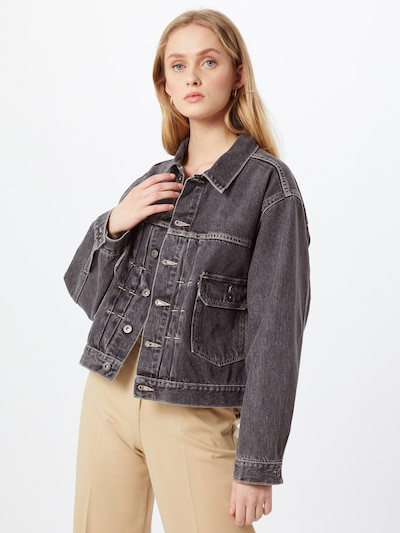 Levi's Made & Crafted Between-season jacket in Grey denim, View model