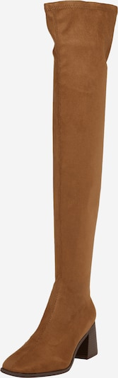 ONLY Over the Knee Boots 'BIJOU-2' in Light brown, Item view