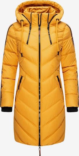 MARIKOO Wintermantel 'Armasa' in gelb / schwarz, Produktansicht