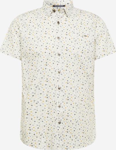 No Excess Риза в бежово / златистожълто / Графитено сиво / светлосиво: Изглед отпред