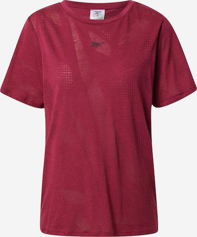 Reebok Sport Funktionsshirt 'Burnout' en pitaya, Vue avec produit