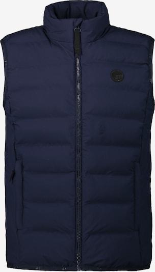 ICEPEAK Weste 'Albi' in marine / schwarz, Produktansicht