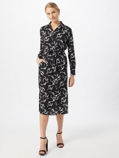 Rochie tip bluză 'FAYELLA' Lauren Ralph Lauren pe negru / alb, Vizualizare model