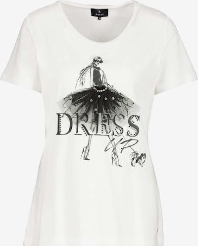 monari Shirt in de kleur Zwart / Wit, Productweergave