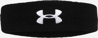 UNDER ARMOUR Sportstirnband in schwarz / weiß, Produktansicht