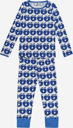 Pijamale Småfolk pe albastru / alb, Vizualizare produs