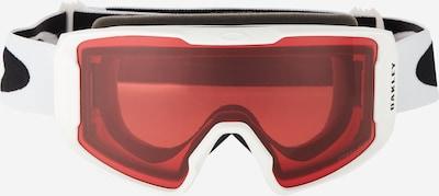 OAKLEY Sportske naočale 'Line Miner' u crvena / crna / bijela, Pregled proizvoda
