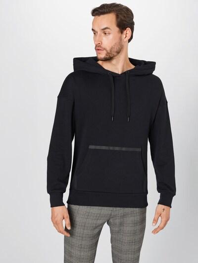 NU-IN Sportsweatshirt in schwarz: Frontalansicht