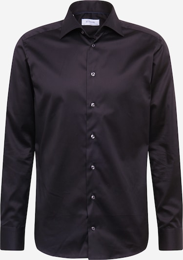 ETON Hemd 'Signature Twill' in schwarz, Produktansicht