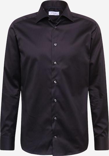 ETON Biroja krekls 'Signature Twill' melns, Preces skats