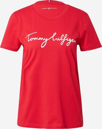 TOMMY HILFIGER T-Krekls, krāsa - sarkans / balts, Preces skats