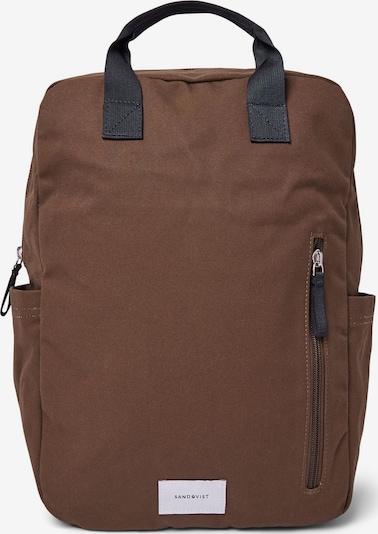 SANDQVIST Rucksack 'KNUT' in khaki, Produktansicht