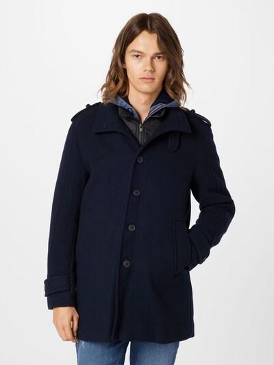 SELECTED HOMME Mantel in dunkelblau, Modelansicht
