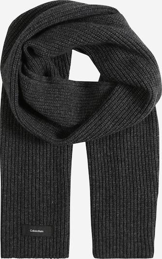 Calvin Klein Schal in schwarzmeliert: Frontalansicht