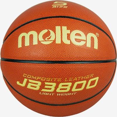 molten Ball in gelb / dunkelorange / schwarz, Produktansicht