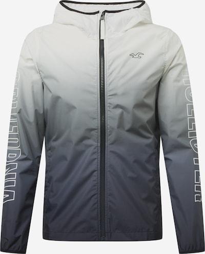 HOLLISTER Tussenjas in de kleur Grijs / Wit, Productweergave