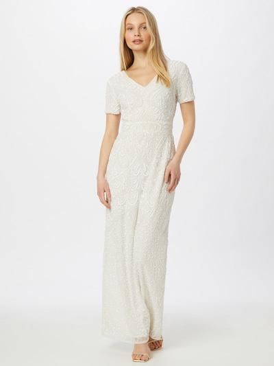 fehér Sistaglam Estélyi ruhák 'CHERRY', Modell nézet