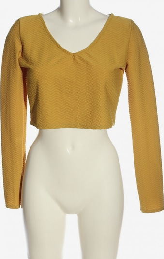 COOPERATIVE Langarm-Bluse in S in pastellgelb, Produktansicht