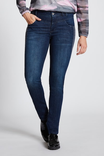 Gina Laura Jeans '790427' in blue denim, Modelansicht