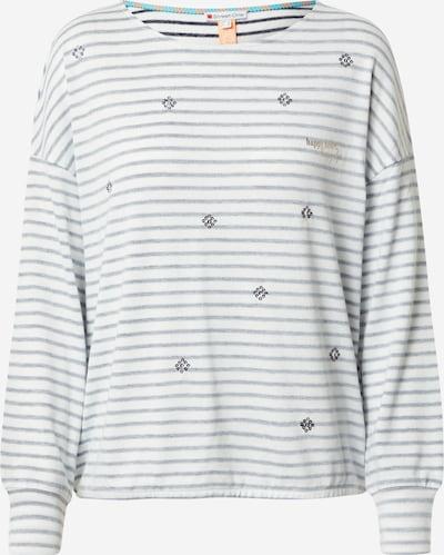 STREET ONE T-Shirt in dunkelblau / weiß, Produktansicht