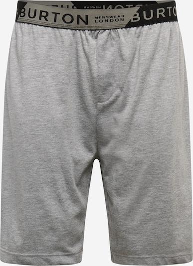 Kelnės iš BURTON MENSWEAR LONDON , spalva - pilka / tamsiai pilka / juoda: Vaizdas iš priekio
