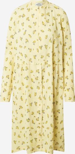 MADS NORGAARD COPENHAGEN Jurk 'Dupina' in de kleur Geel / Pasteelgeel / Spar, Productweergave