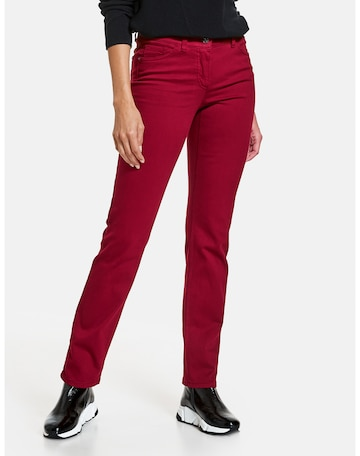 GERRY WEBER Jeans 'Best4me' in Rot